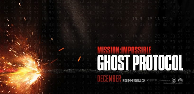 mission impossible ghost protocal teaser poster movie banner