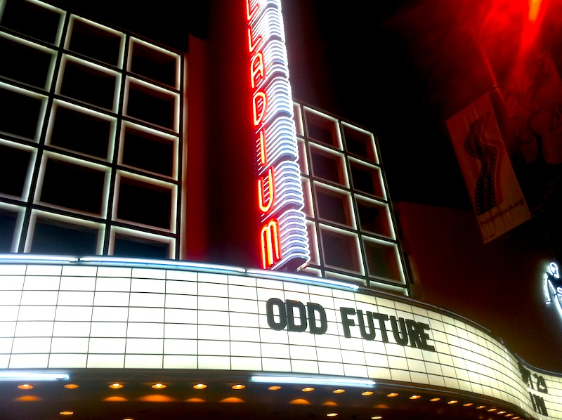 odd future the palladium hollywood tyler the creator frank ocean ofwgkta