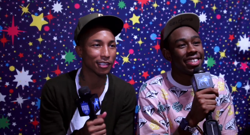 pharrell nerd tyler the creator interview ofwgkta mtv vma best new artist