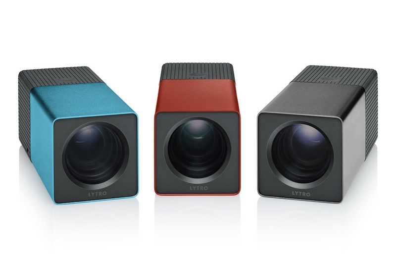 Lytro Light Field Camera Blue Red Graphite