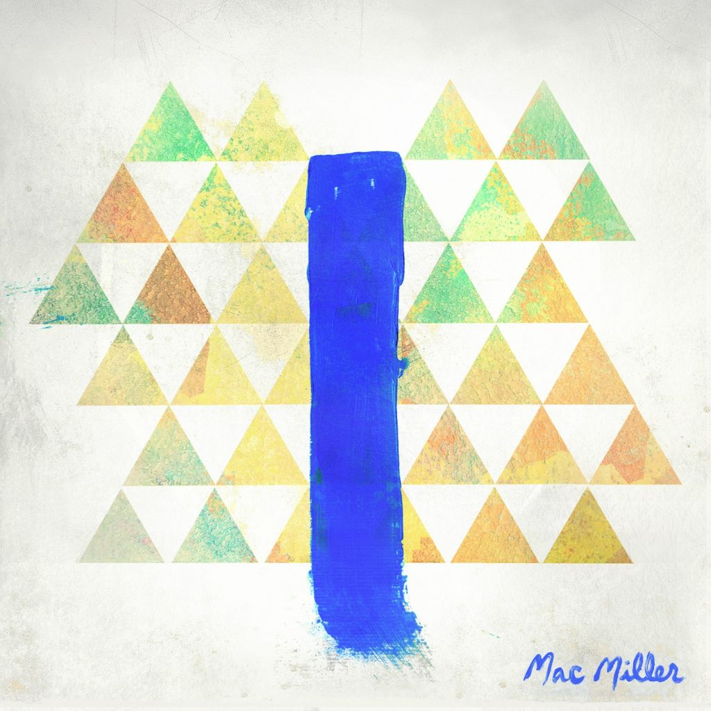 Mac Miller Blue Slide Park Album Cover