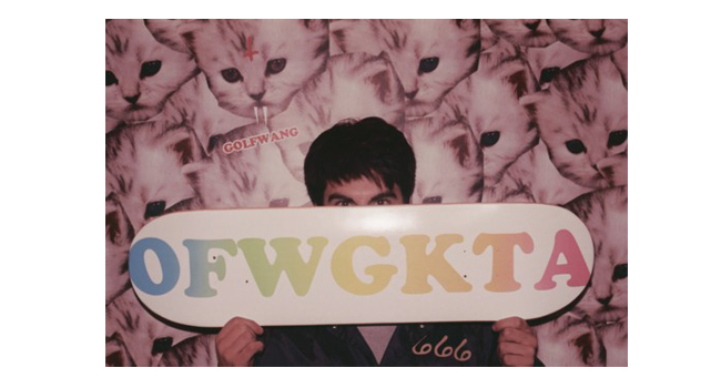 Odd Future OFWGKTA Skateboard Deck Sagan Lockhart