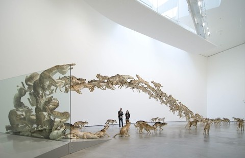 Cai Guo-Qiang Head On