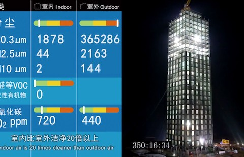 Chinese Build 30 Story Building in 15 Days