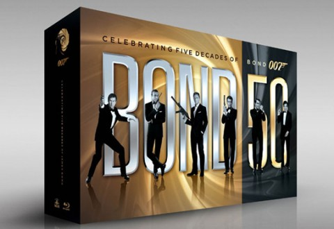 Bond 50 - James Bond Blu-Ray Collection