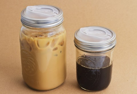 Cuppow Canning Jar Into Travel Mug