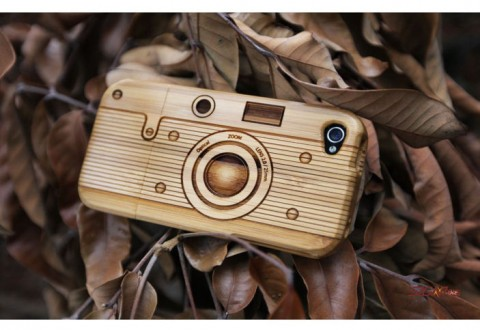 SigniCase Wood Camera Case for iPhone/iPod