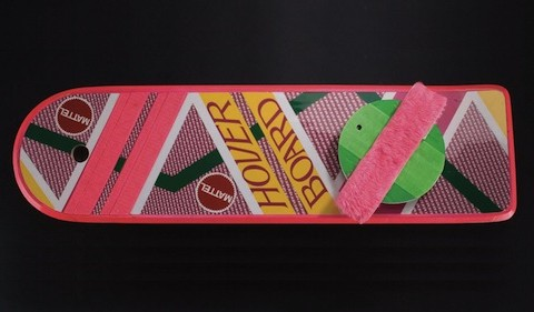 mattel back to the future hoverboard prop replica official