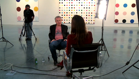 time magazine interview damien hirst