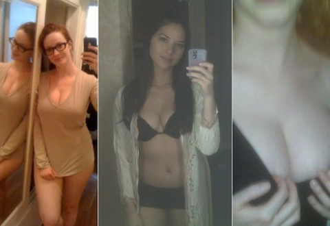 Naked Phone Pictures of Christina Hendricks & Olivia Munn