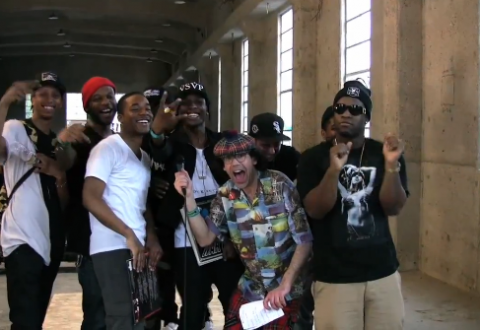 Nardwuar x ASAP Rocky and the ASAP Mob