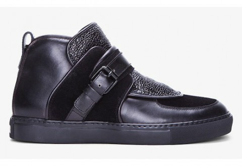 Givenchy-Black-Padded-Leather-Sneakers-01