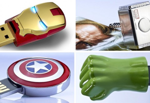 marvel avengers flash drives