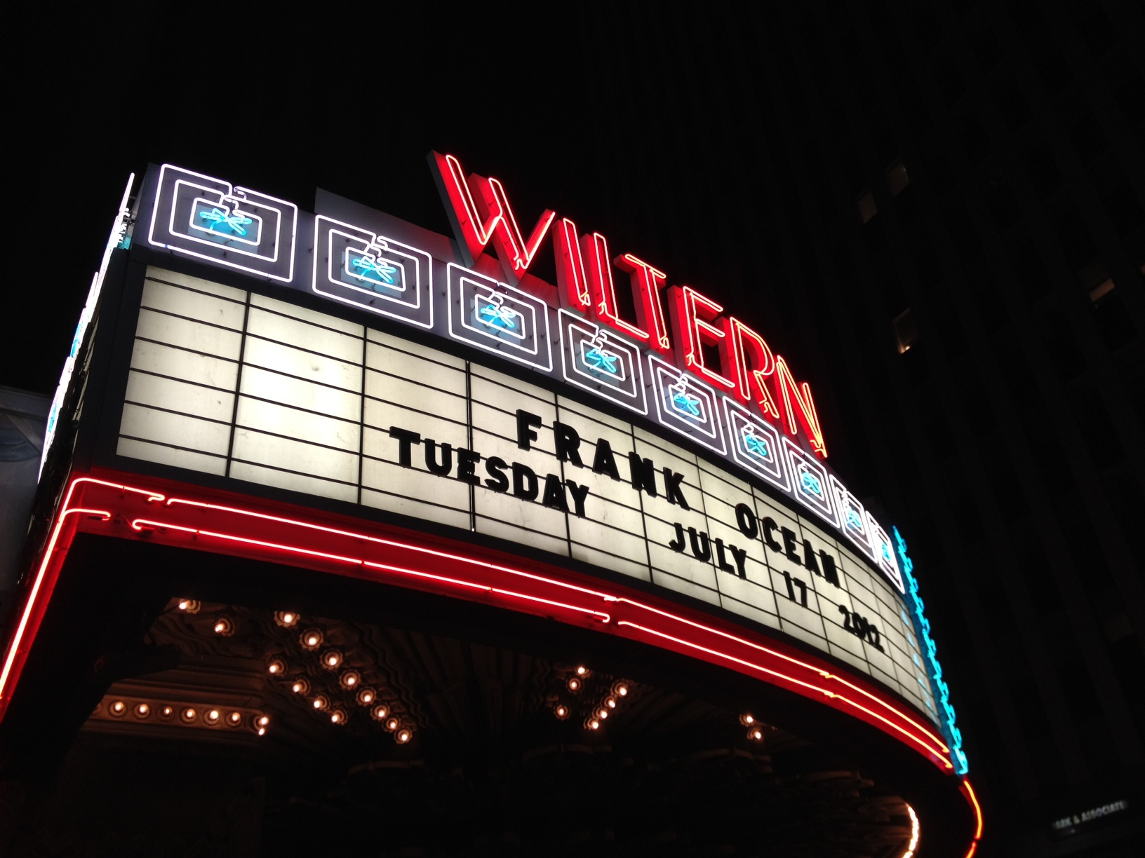 frank ocean the wiltern los angeles channel orange tour 3